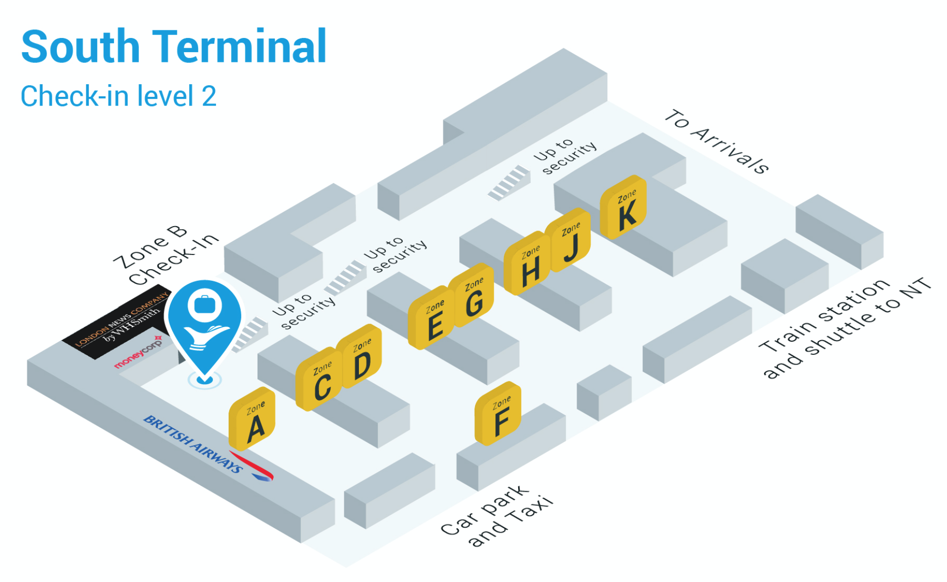 Gatwick Airport South Terminal Airportr Help Centre