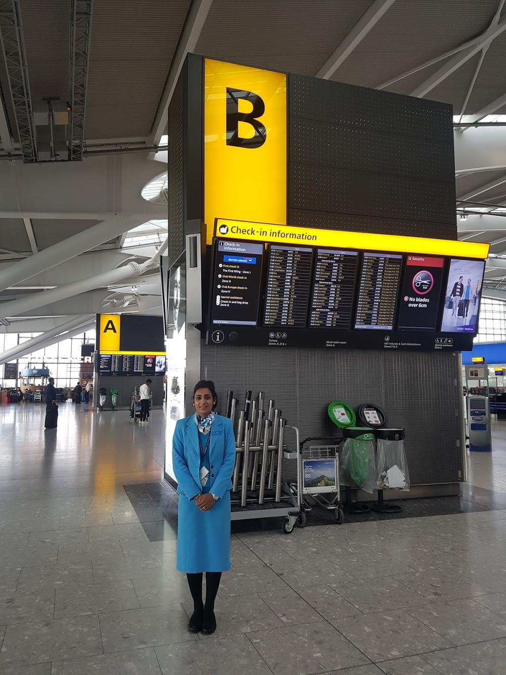 Heathrow Terminal 5 Airportr Help Centre